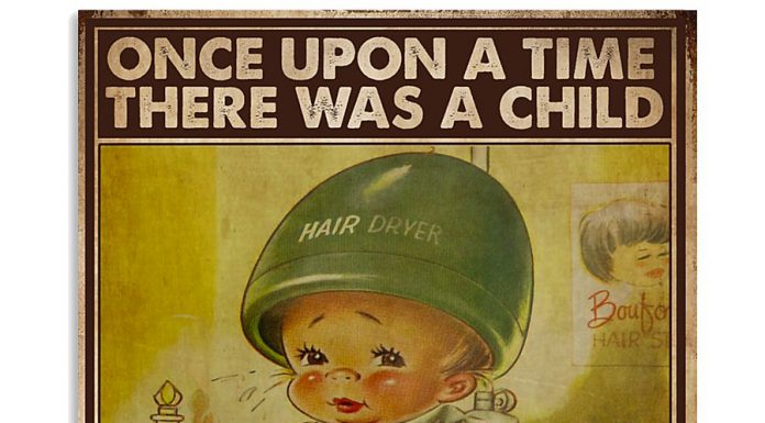 Once-Upon-A-Time-There-Was-A-Girl-Who-Really-Loved-Hairdressing-Poster