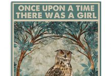 Once-Upon-A-Time-There-Was-A-Girl-Who-Really-Loved-Owls-Poster