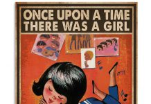 Once-Upon-A-Time-There-Was-A-Girl-Who-Really-Loves-Vinyl-Records-Poster