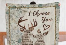Personalized-Deer-I-Choose-You-To-Do-Life-With-Hand-Fleece-Blanket
