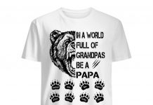 Personalized-In-A-World-Full-Of-Grandpas-Be-A-Papa-Bear-Shirt