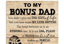Personalized-To-My-Bonus-Dad-You-Didnt-Give-Me-The-Gift-Of-Life-But-You-Sure-Made-My-Life-Better-Poster