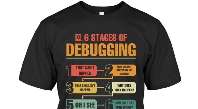 Six-6-Stages-Of-Debugging-Shirt