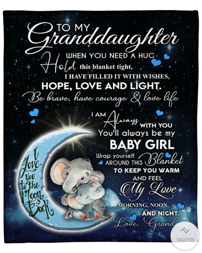 To-My-Granddaughter-When-You-Need-A-Hug-Hold-This-Blanket-Tight-Fleece-Blanket