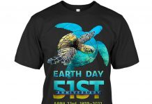Turtle-Earth-Day-51st-Anniversary-2021-Shirt
