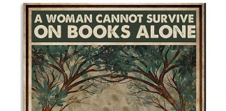 A-Woman-Cannot-Survive-On-Books-Alone-She-Also-Needs-A-Dachshund-Posterv