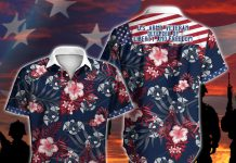 American-US-Army-Veteran-Defender-Of-Liberty-And-Freedom-Button-Shirt