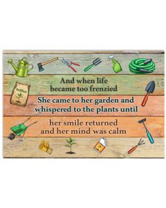 And-When-Life-Became-Too-Frenzied-Gardening-Poster