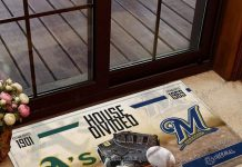 Athletics-House-Divided-Brewers-Doormat