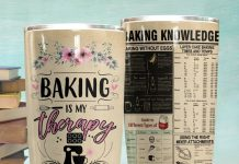 Baking-Is-My-Therapy-Baking-Knowledge-Tumbler