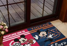 Buckeyes-Ohio-State-House-Divided-Auburn-Tigers-Mickey-Mouse-And-Minnie-Mouse-Doormat