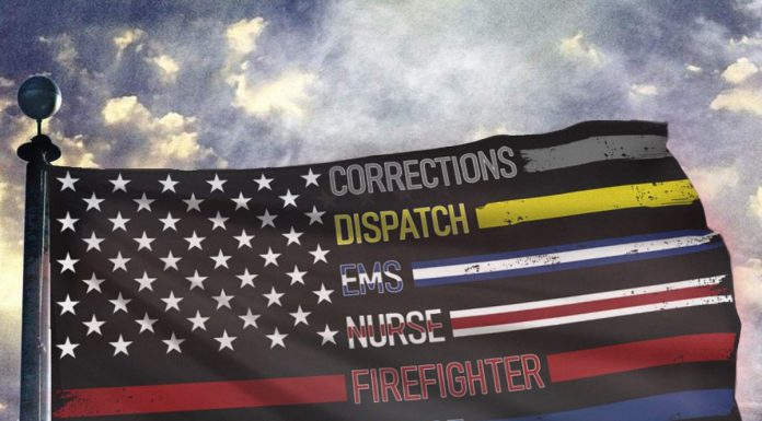 Corrections-Dispatch-Ems-Nurse-Firefighter-Police-Military-Flag