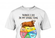 Farmer-Cow-Things-I-Do-In-My-Spare-Time-Shirt