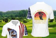 Im-A-Simple-Man-I-Like-Boobs-And-Playing-Golf-Polo-Shirt