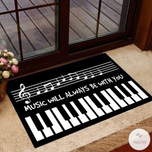 Music-Will-Always-Be-With-You-Welcome-Doormat