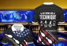 My-Bowling-Technique-Bowl-Yell-At-10-Pin-Pray-For-Spare-Repeat-Polo-Shirt