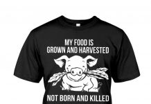 My-Food-Is-Grown-And-Harvested-Not-Born-And-Killed-Shirt