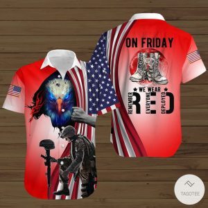 On-Friday-We-Wear-Red-Button-Shirt
