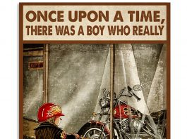 Once-Upon-A-Time-There-Was-A-Boy-Who-Really-Loved-Riding-Motorcycles-Poster