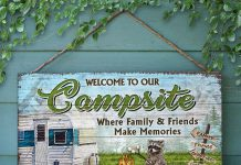 Personalized-Camping-Welcome-To-Our-Campsite-Where-Family-And-Friends-Make-Memories-Rectangle-Wood-Signz