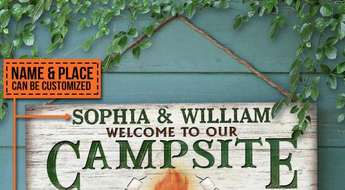 Personalized-Camping-Welcome-To-Our-Campsite-Where-Friends-And-Marshmallows-Are-Toasted-Rectangle-Wood-Sign