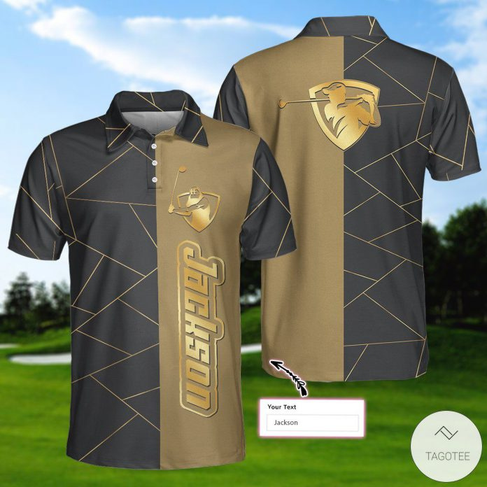 Personalized-Golden-Lines-Golf-Polo-Shirtx