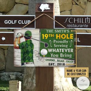 Personalized-Golf-19th-Hole-Proudly-Serving-Whatever-You-Bring-Rectangle-Wood-Sign