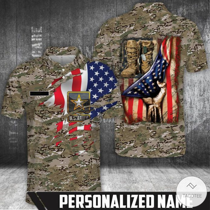 Personalized-US-Army-Polo-Shirt