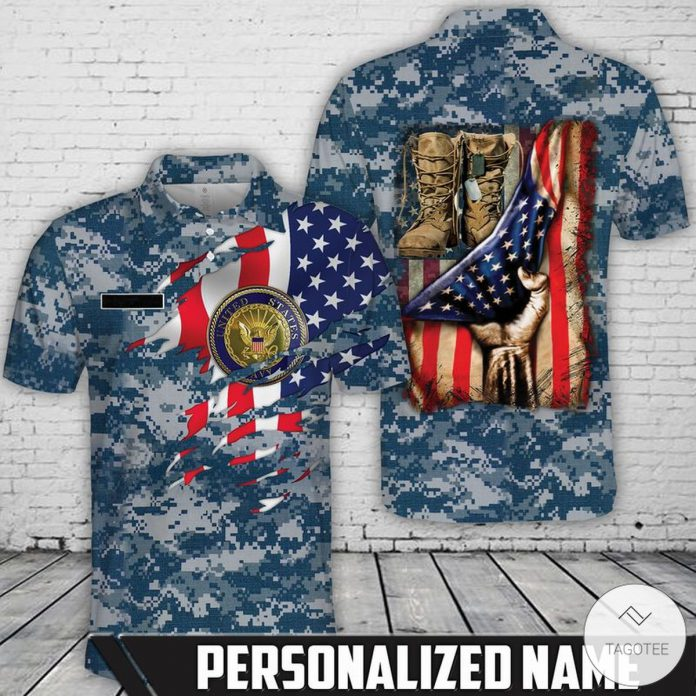 Personalized-US-Navy-Polo-Shirt