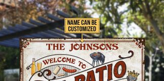 Personalized-Welcome-To-The-Patio-Grilling-Metal-Signs