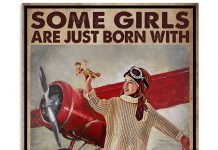 Some-Girls-Are-Just-Born-With-Airplanes-In-Their-Souls-Poster