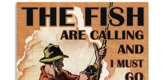The-Fish-Are-Calling-And-I-Must-Go-Poster
