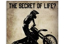 The Secret Of Life Just Enjoy The Ride Poster