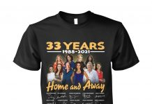 33 Years Home And Away Thank You For The Memories Shirt