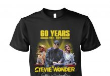 60 Years Stevie Wonder Thank You For The Memories Shirt