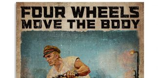 Four Wheels Move The Body Two Wheels Move The Soul Poster