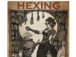 Hexing Because Murder Is Wrong Witch Poster
