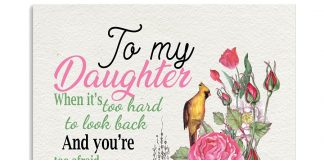 To My Daughter What My Heart Sounded From The Inside Love Mom Poster