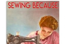 Sewing Because Adulting Is Hard Poster