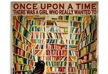 There Was A Girl Who Really Wanted To Own A Room Full Of Books Poster