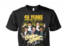 George Strait 45 Years Thank You Shirt