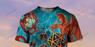 Dragons And Dungeon Dice Shirt