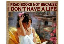 I Read Book Because I Choose To Have Many Life Poster