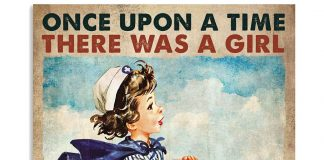 Once Upon A Time There Was A Girl Who Really Want To Become A Nurse Poster