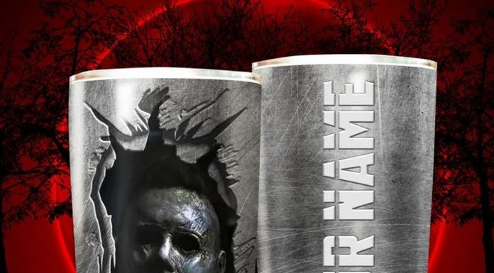 Personalized Horror Movie Character Jason Voorhees Tumbler