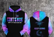 Suicide Prevention Don't Let Your Story End Awareness Hoodie