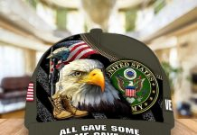 Us Army All Gave Some Some Gave All Cap
