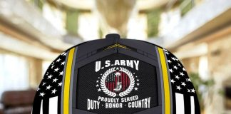 Us Army Proudly Served Cap