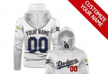 Personalized Los Angeles Dodgers Gaiter Mask Hoodie
