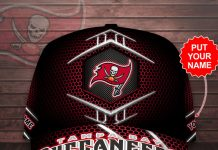 Personalized Tampa Bay Buccaneers Cap
